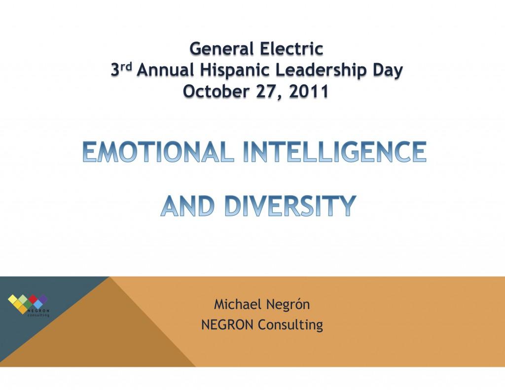 NEGRON Consulting, EI & Diversity